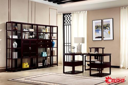 黑色新中式家具