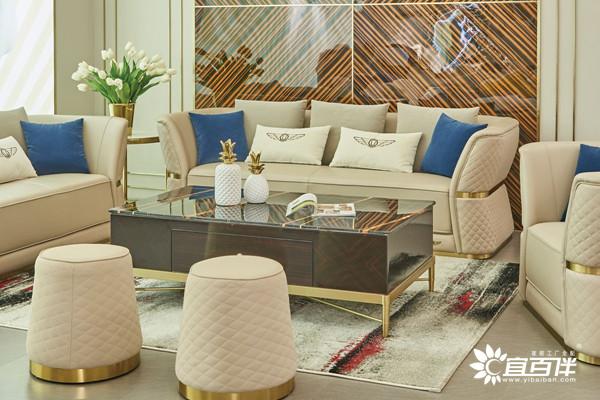 宜百伴轻奢沙发家具
