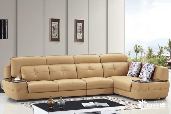 宜百伴现代皮艺沙发